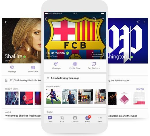 Content and brands on Viber